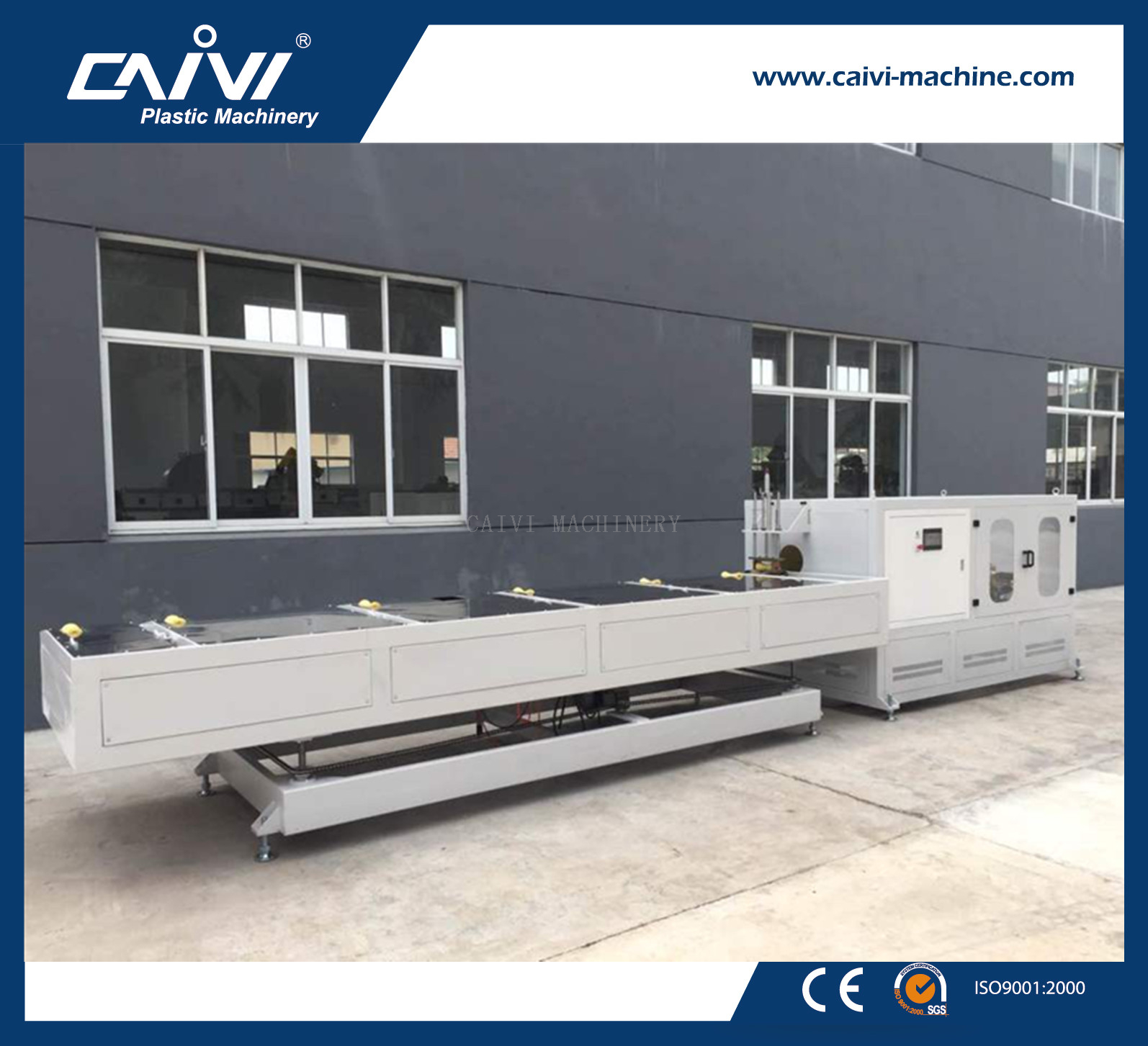 PVC/PE Pipe Threading Machine