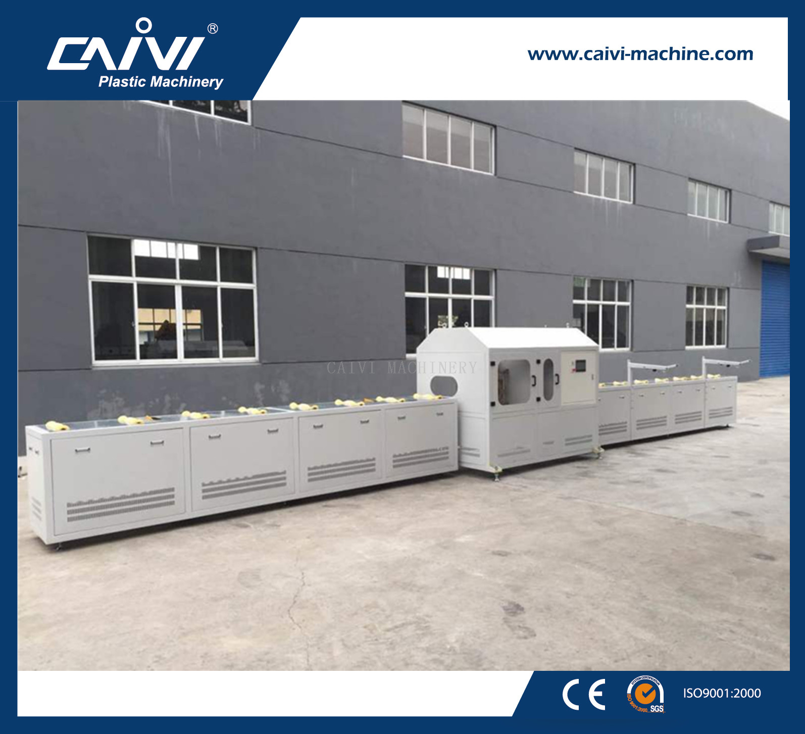 PVC/PE Pipe Slotting machine